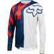 Fox Demo Preme Long Sleeve Jersey Men blue/red